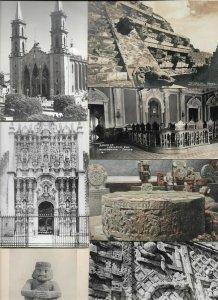 Mexico Mexico City Lots of RPPC Interesting 17 Postcards Lot  01.14