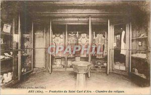Postcard Old Ars (ain) presbytery of the Holy Cure of Ars room relics