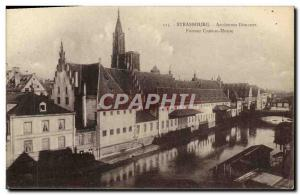 Postcard Old Customs Customs Customs Strasbourg Old Customs