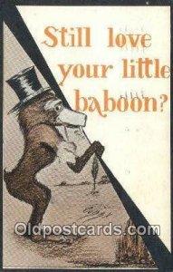 Artist Shinn, Cobb 1911 light wear postal used 1911