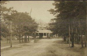 Wianno Cape Cod MA c1910 Real Photo Postcard