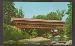 Covered Bridge - Conway Over Swift River