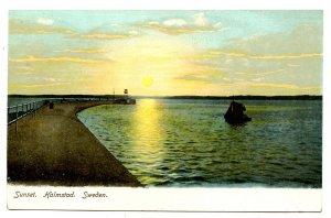 Sweden - Halmstad. Sunset