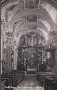 Wieskirche Interior Immen German Postcard