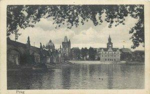 Czech R. Prag Hans Gathmann un Erich Mandel celojam apkart pasaule