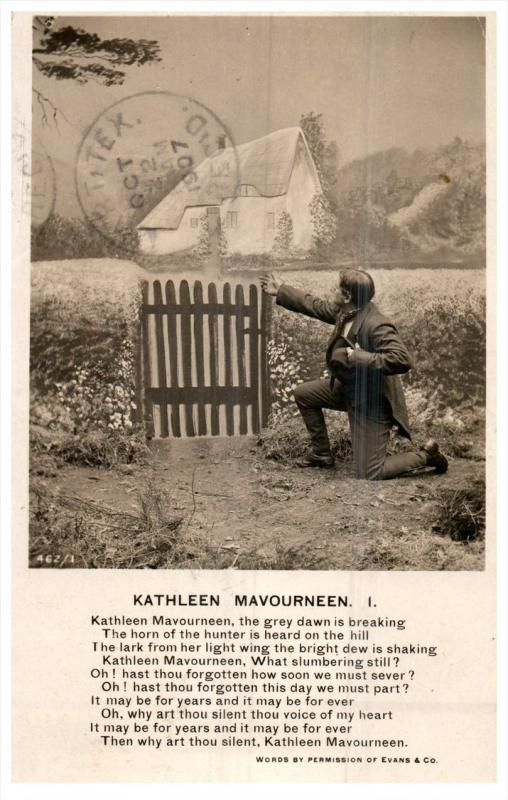 Irish Life   irish   Poem  to  kathleen Mavoureen