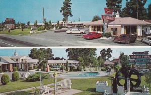 Exterior Restaurant, Swimming Pool, Mansion Park Motor Lodge, Santee, South C...