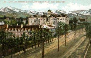 UT - Salt Lake City. Emery Flats, Lion & Beehive Houses