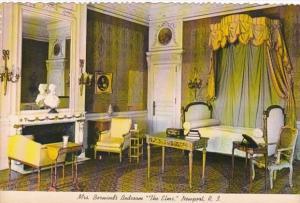 Rhode Island Newport The Elms Mrs Berwind's Bedroom