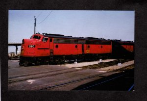 TX Missouri Kansas Texas Railroad Train Locomotive 55-C Dallas Texas Postcard