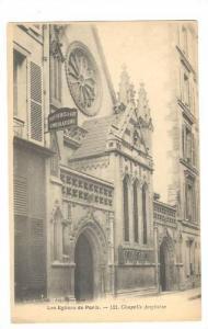 Chapelle Anglaise, Les Eglises De Paris, France, 1900-1910s