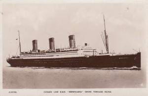 RP, Steamer/Oceanliner/Ship, Cunard Line, R.M.S. Berengaria Gross Tonnage 52,7