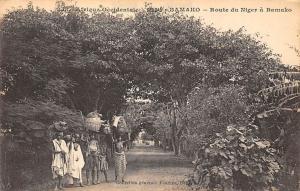Mali Soudan, Bamako - Route du Niger a Bamako