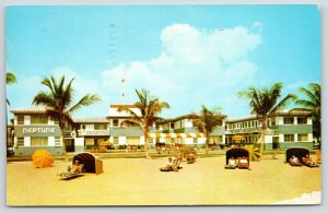 Hollywood Beach FL~Caught 14lb Kingfish~Neptune is Our Home~Nice Apartments 1961