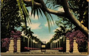 Clubhouse Entrance, Miami Jockey Club, Hialeah Park Race Track, FL