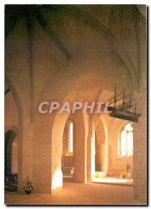 Modern Postcard St Georges d'Oleron Chte Ms. Roman church choir and the right...