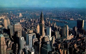 NY - New York City. View Northeast from Empire State Building