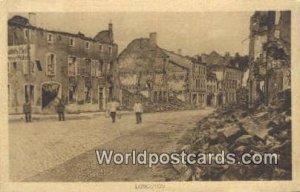 Longuyon, France, Carte, 1916 Missing Stamp