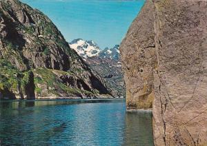 Norway View Of The Trollfjord 1973