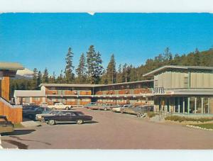Pre-1980 MOTEL SCENE Jasper Park Alberta AB hk1077