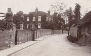 The Red House Sonning Antique Real Photo Postcard