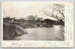 Palmyra Wisconsin~Springs Sanitarium~Health Resort~Druggist Home~Razed 1950~1907