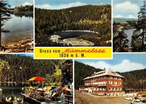 Gruss vom Muemmelsee Lake Forest Panorama Gasthaus Auto Cars