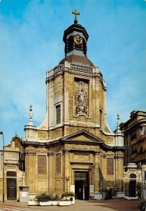 Belgium Bruxelles Brussel Eglise Notre Dame du Finistere La Facade Church