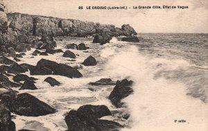 La Grande Cote,Effet de Vague,Le Croisic,France BIN