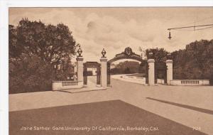 BERKELEY, California, 1900-1910's; Jane Sather Gate, University Of California