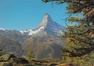 Switzerland, Suisse, Zermatt, Cervin-Matterhorn, 4478 m, 1991 used Postcard