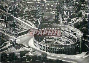 Postcard Modern Roma Zona Del Colosseo Dall'Aereo