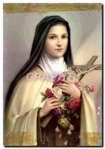 Modern Postcard Souvenir de Lisieux Ste Therese