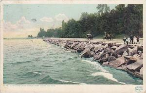 Ohio Cleveland Lake Shore Driver Gordon Park 1908