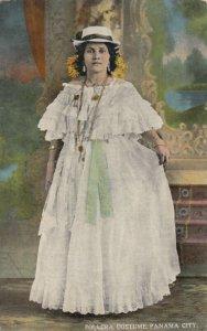 PANAMA CITY , 1900-10s ; Pollera Costume