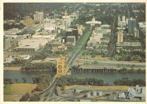 SACRAMENTO, CA State Capitol Park Tower Bridge River c1960s Continental Postcard