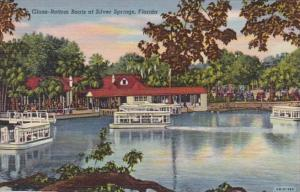 Florida Silver Springs Glass Bottom Boats Curteich
