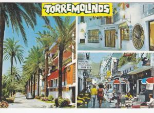 3-Views, Diner, Wagon Wheel, Costa Del Sol, Torremolinos, Spain, 1970s PU