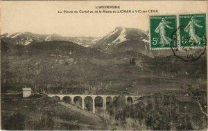 CPA Le Plomb du Cantal vu de la route du Lioran a Vic sur Cere FRANCE (1090765)