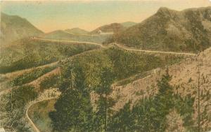 Albertype Colorado Springs Colorado Corley Mountain Highway 1920s Postcard 4957