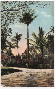 Bermuda; Smith's Parish Church, No 184 PPC By Phoenix Drug Co, Unused, c 1910's
