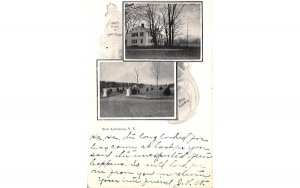 Birth Place of Samuel J Tilden New Lebanon, New York Postcard