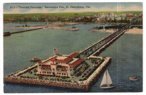 St. Petersburg, Fla., Tourists Paradise, Recreation Pier