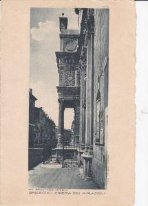 BRESCIA , Lombardia ,  Italy , 1910s ; Chiesa Dei Miracoli