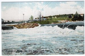 Brunswick, Maine, Lower Falls, Androscoggin River