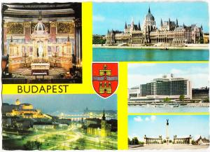 Hungary, BUDAPEST, used Postcard