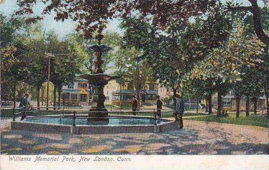 Connecticut New London Williams Memorial Park