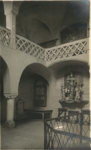 VIPITENO STERZING ITALY RATHAUS REAL PHOTO POSTCARD 1920s