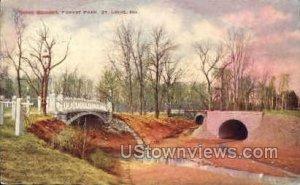 Three Bridges, Forest Park in St. Louis, Missouri