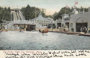 WORCESTOR , Massachusetts , PU-1906 ; The Chutes , White City